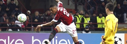 Kevin Prince Boateng opens the scoring in regal fashion