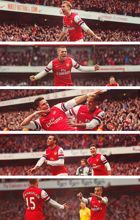 the best attitude e6b0d 14cb9 Gunnerblog – Arsenal 5 – 2 Spurs  History Repeats Itself